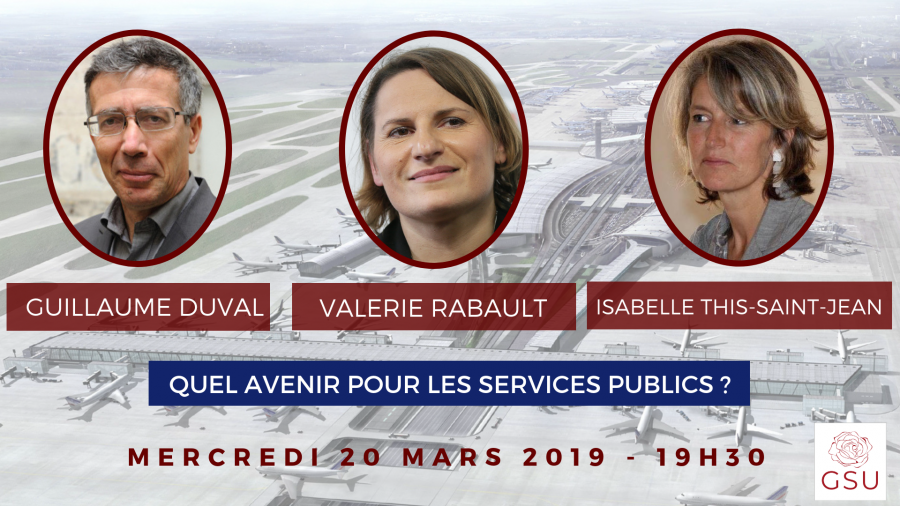 Conférence-Débat – Quel avenir pour les services publics ?