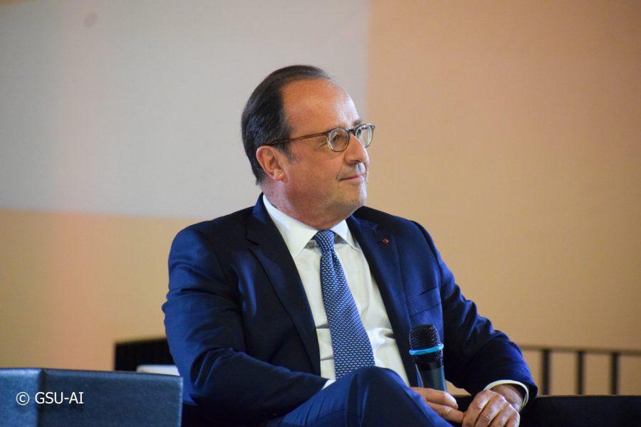 François Hollande à Assas [En vidéo]